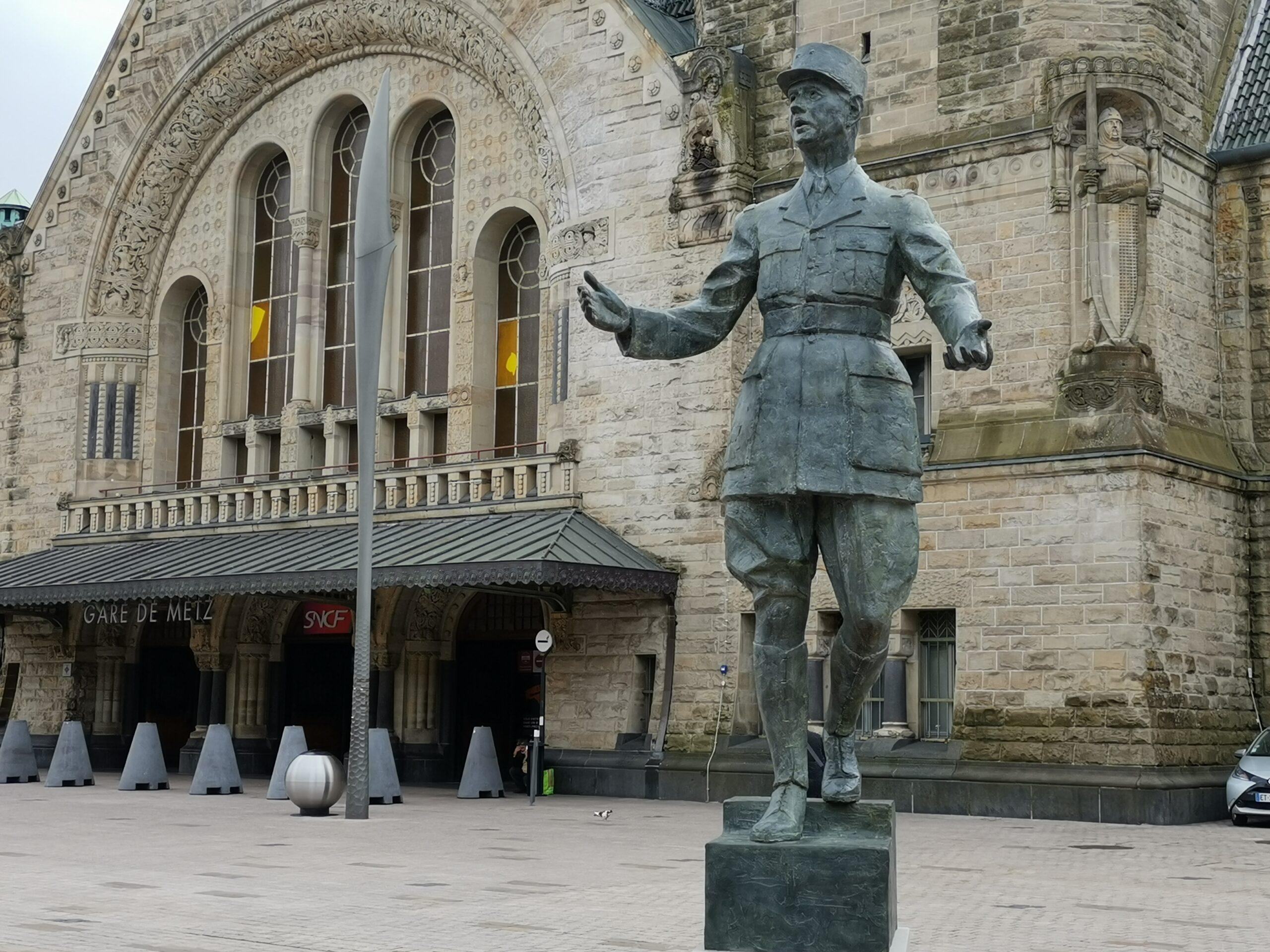 La statue du général de Gaulle à Metz au cœur de la dernière plainte visant le maire François Grosdidier