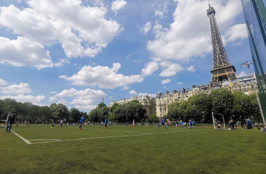 A la tête du club de foot l'ESPA Paris, il n'y a pas que des anges